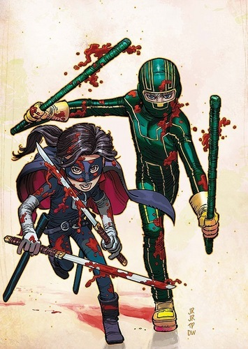 Kick-Ass & Hit-Girl
