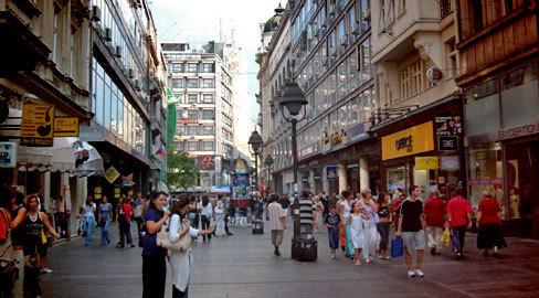 Knez Mihajlova ulica u Beogradu - must see