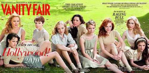 Kristen and Anna on vanity fair