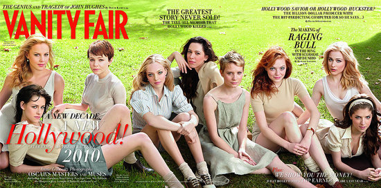 Kristen and Anna on vanity fair