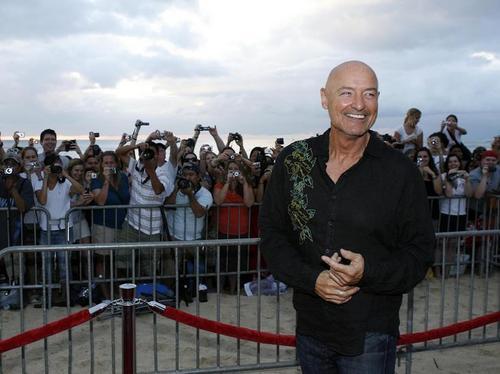 lost Premiere Season6 on the pantai in Oahu