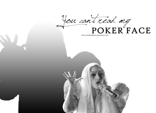 Lady GaGa's Poker Face (Grammy Performance shabiki Art)