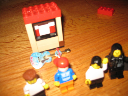 Lego Bill, Ted, Death, and Ruphis