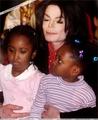 MJ with kids - michael-jackson photo