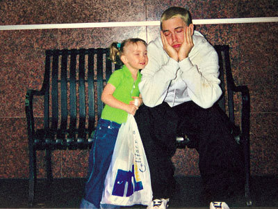 Marshall & Hailie - eminem Photo