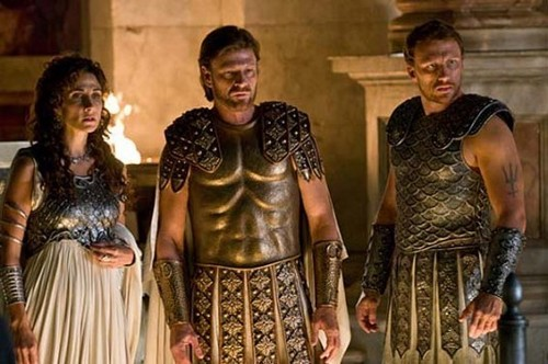 Melina Kanakeredes as Athena on the upcoming movie PercyJackson&theOlympians: theLightningTheif
