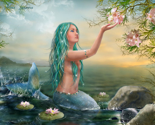 Fantasy wallpaper called Mermaids