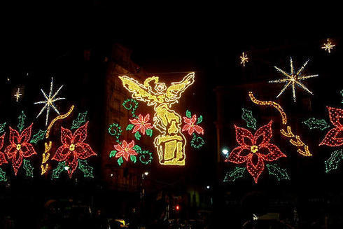 Mexico City 크리스마스