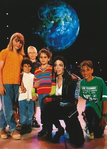 Michael and children