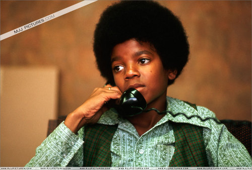 Michael on the phone (: