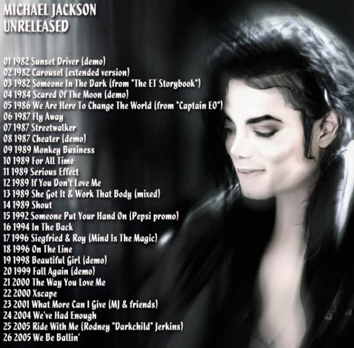 Michael's Unreleased Songs