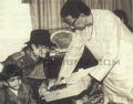 Mike and Bal Thackeray