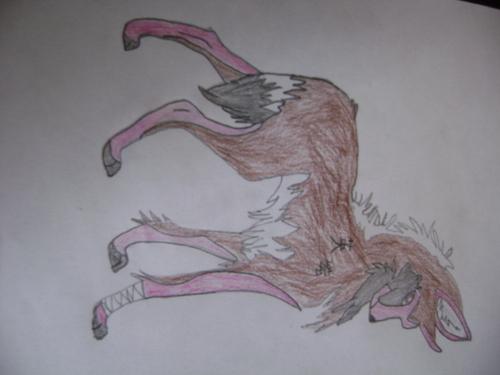 My draw Wölfe