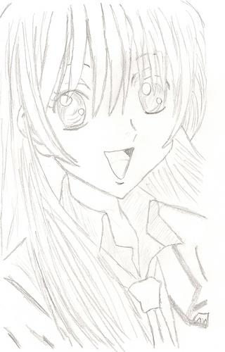 My fanart of Hikari