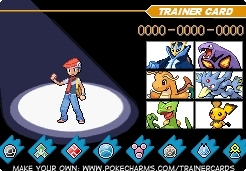 My real DP Trainer Card