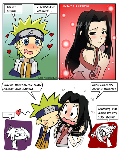 NARUTO -ナルト- in love! sorry bellatrixfan XD