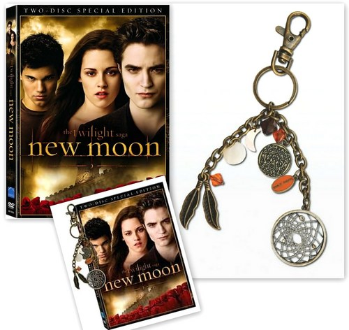 New Moon DVD and Blu-ray with Dreamcatcher @ Barnes & Noble