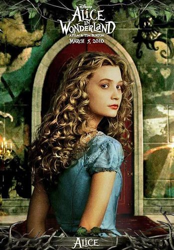 Alice in Wonderland (2010) wallpaper entitled New posters and still