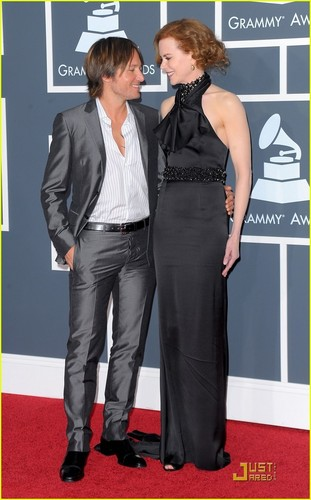 Nicole & Keith @ 2010 Grammy Awards