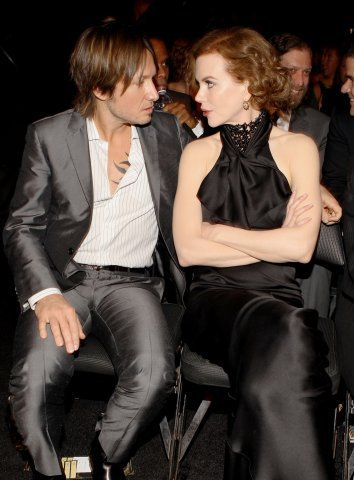 Nicole & Keith @ 2010 Grammy Awards
