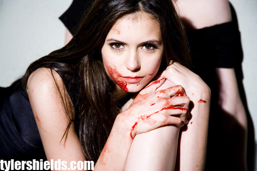 The Vampire Diaries TV ipakita wolpeyper titled Nina Dobrev Photoshoot