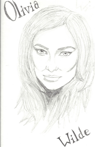 Olivia Wilde Drawing! <3