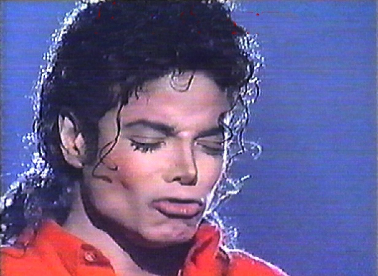 Once again, The master of pouting.....Michael Jackson