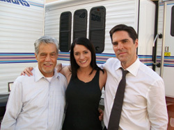 Hotch & Emily 壁纸 titled Paget & Thomas