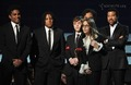 Paris, Prince and Blanket - Grammy 2010  - michael-jackson photo