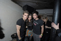 Paul Nina and Ian - paul-wesley photo
