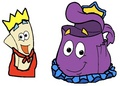 Prince Map and Princess Backpack - dora-the-explorer fan art