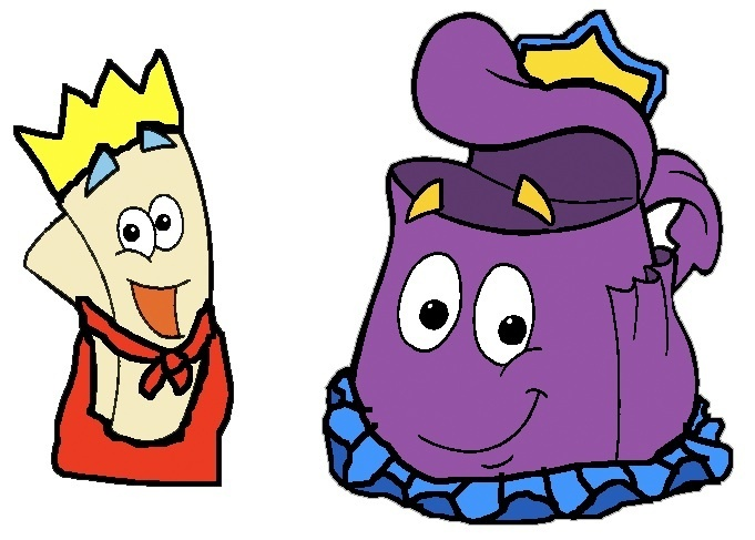 Prince Map and Princess Backpack