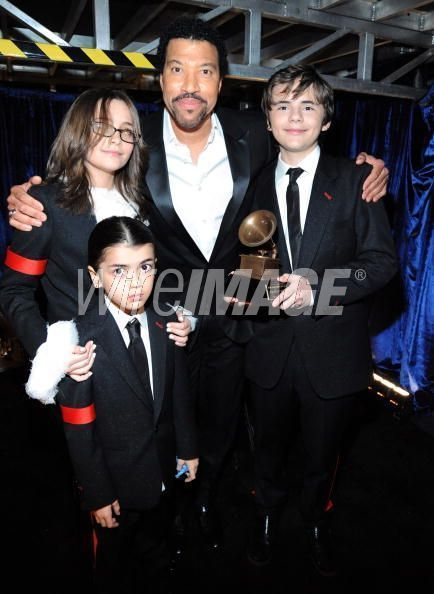 Prince Paris and Blanket at the 2010 Grammy's -  michael-jackson photo