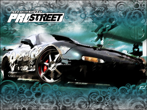 Need for Speed wallpaper titled ProStreet