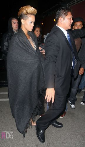 Rihanna leaving 2010 Grammy Awards afterparty - February 1, 2010