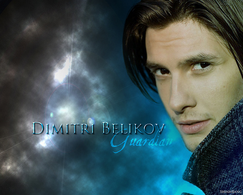 Vampire Academy wallpaper entitled Rose and Dimitri