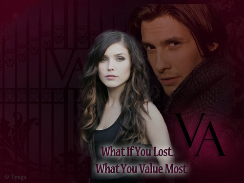 Vampire Academy wallpaper titled Rose and Dimitri