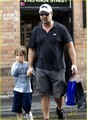 Russell Crowe: Father & Son Bonding - russell-crowe photo