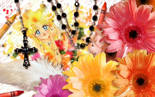 Sailor Moon Sailor Stars fond d'écran called Sailor Stars