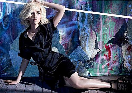 Scarlett Johansson | mangga Photoshoot