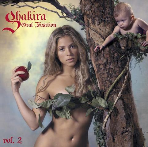 Shakira Album Covers