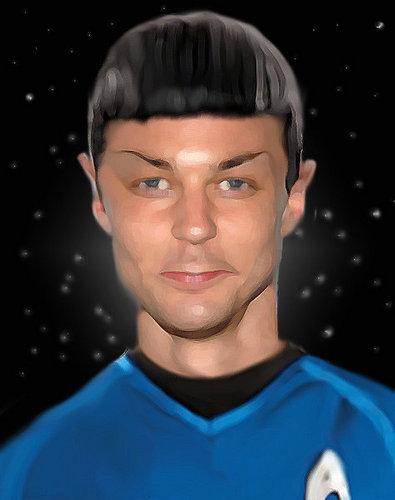 Sheldon/Spock