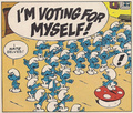 Smurf Primary - grouchy-smurf photo