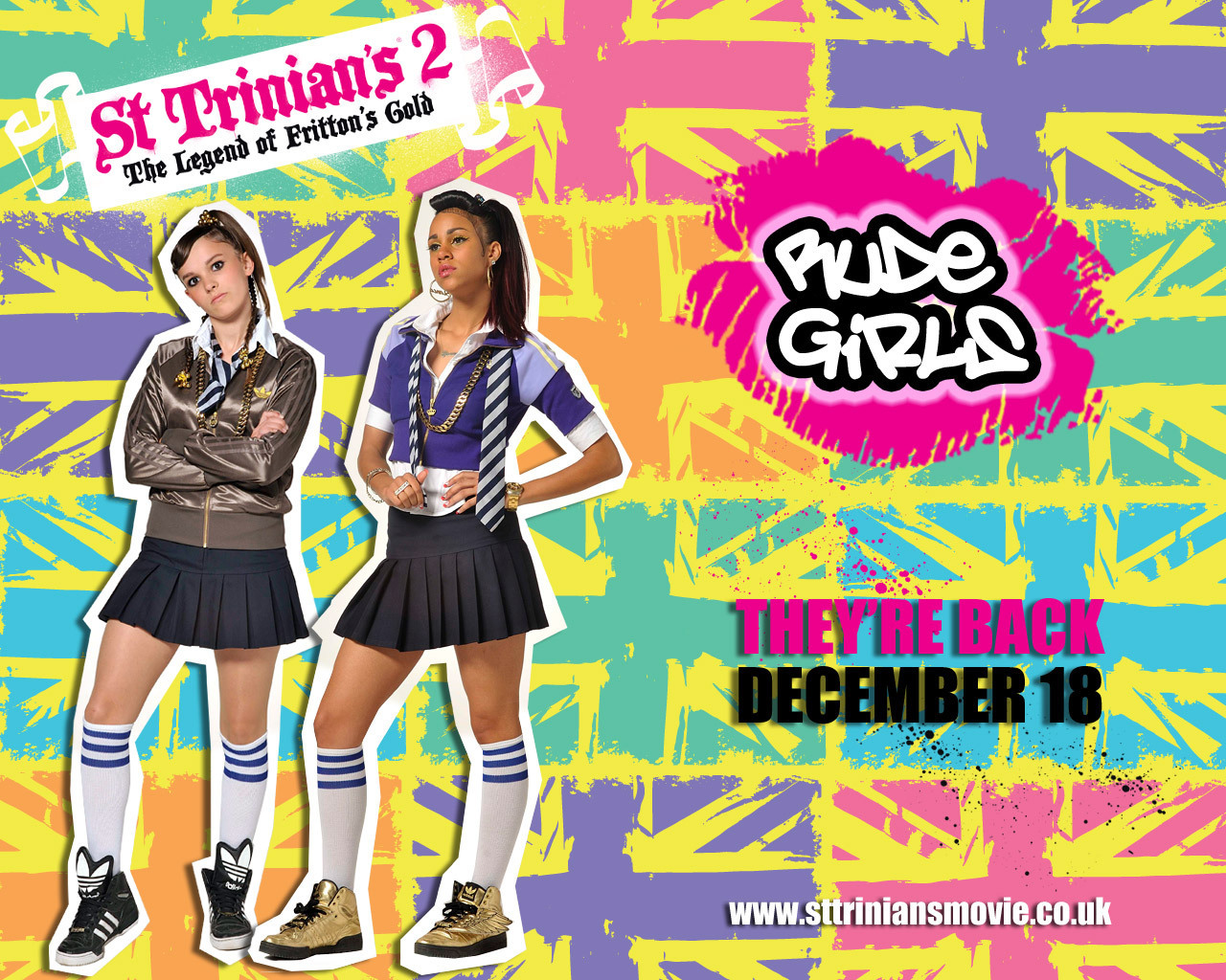St Trinians 2 images St Trinians 2 HD wallpaper and