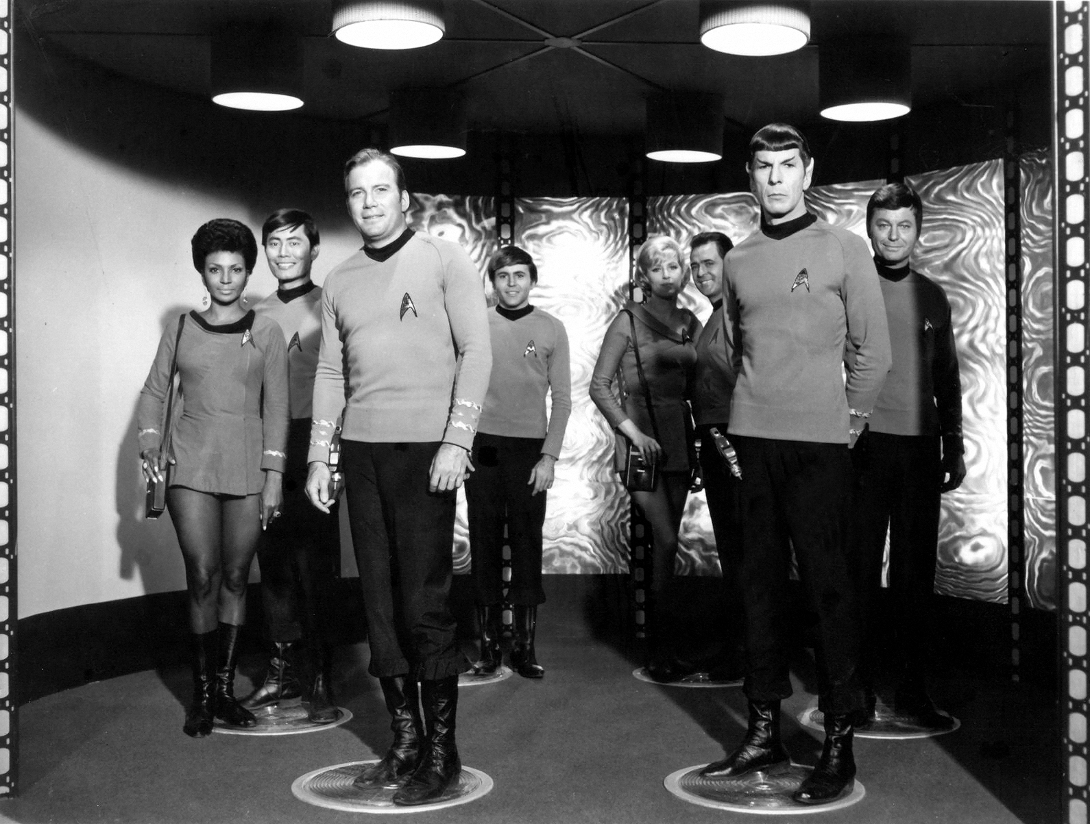 Yep. The 24th century was colored Black and White at the RantFamily household, just like previous centuries