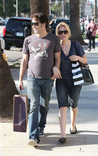 Stephen Moyer and Anna Paquin in Santa Monica (Feb 3)