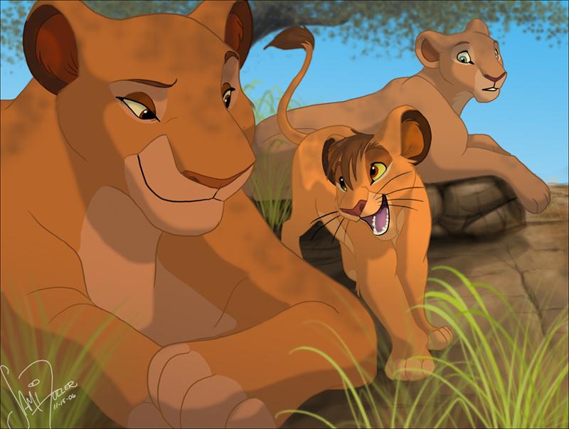 the lion king 2 kovu