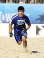 Taylor Lautner At The Direct TV Celebrity Beach Bowl - twilight-series photo