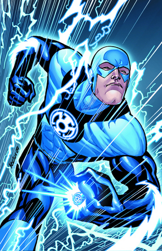 The Flash as a Blue Lantern - dcs-flash Photo