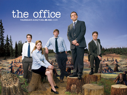 The Office پیپر وال